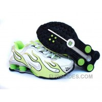 Kid's Nike Shox Torch Shoes White/Light Green/Grey New Release