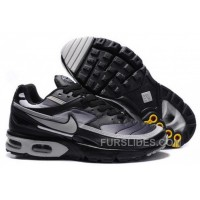 Men's Nike Shox TR Shoes Black/Grey Free Shipping