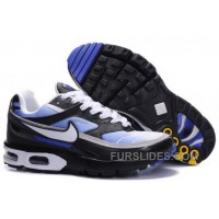 Men's Nike Shox TR Shoes Black/White/Blue For Sale