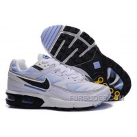 Women's Nike Shox TR Shoes White/Black/Light Blue For Sale