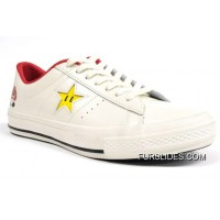 Super Mario Bros.x Converse One Star 40+1C678 (31) White Best