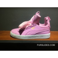 Puma X Fenty The Creeper Butterfly Womens Pink White New Style