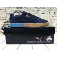 Puma X Pink Dolphin Suede Capsule Collection Black Blue Women Men Free Shipping YeRjMYh