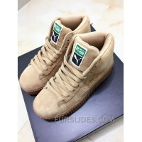 Puma X Rihanna WMNS Creeper Wheat Gum Authentic YcNYpDy