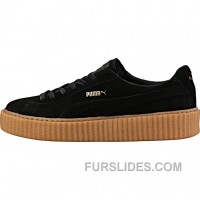 Puma By Rihanna Creeper (Mens) - Black/Gum Lastest FTiEjjb