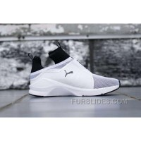 Puma X Rihanna Fenty Trainer HI White Black Top Deals RQRfQ