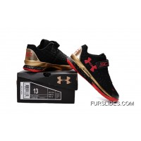 Under Armour Kids Black Red Shoes Copuon Code