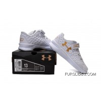 Under Armour Kids White Shoes New Release