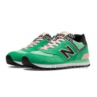 Authentic New Balance 574 2016 Women Green 4ciX7