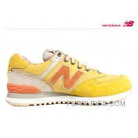 Top Deals New Balance 574 2016 Women Yellow 8CBKr4y