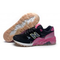 For Sale 2016 New Balance 580 Women Black Pink MHfCY