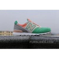 Authentic 2016 New Balance WR996 Women Green WNP2h