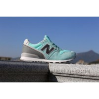 Super Deals 2016 New Balance WR996 Women Mint Green Shm8H