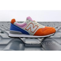 Christmas Deals 2016 New Balance WR996 Women Orange Blue Xj8dFR