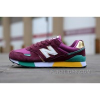 Lastest New Balance 446 Women Dark Red KfYQfN