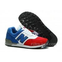 Free Shipping New Balance 576 Women Blue Red PtEay