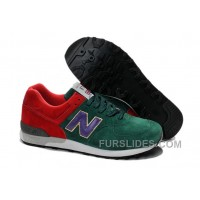 Super Deals New Balance 576 Women Green Red R38R8XZ