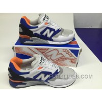 Free Shipping New Balance 878 Women Blue White XNM2Rc