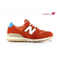 Christmas Deals New Balance 996 Women Orangered KxJnrS