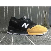 Discount New Balance 997 Women Black Yellow FENkP