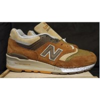 Lastest New Balance 997 Women Brown Kpw2yQK