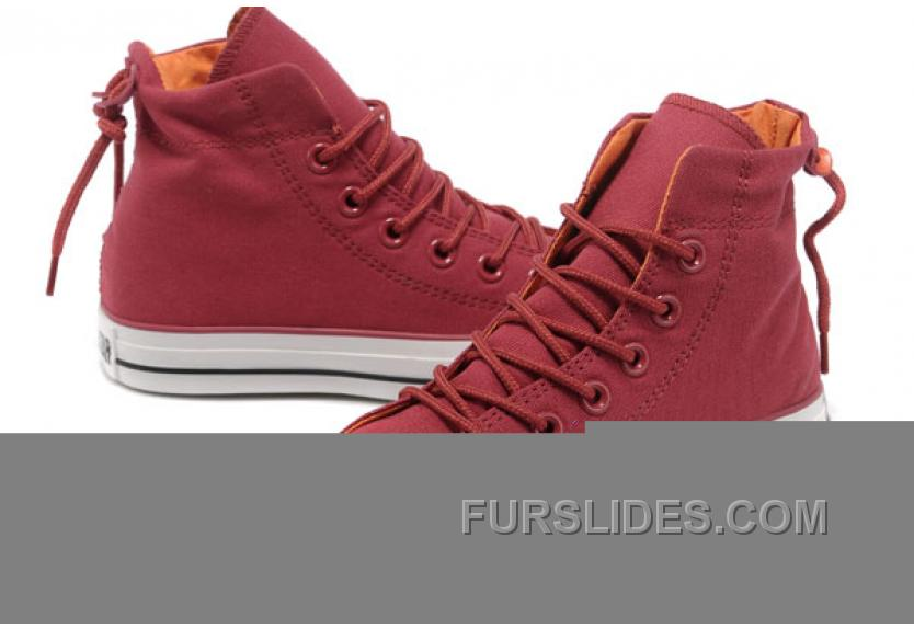 b8817c28639bca Undefeated Wine Red CONVERSE High S All Star Canvas Clear Rubber Soles Top  Deals