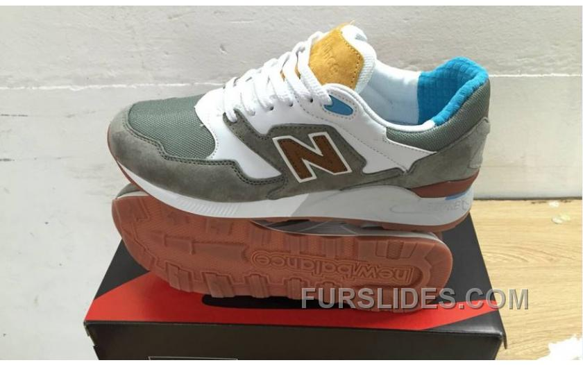 New Balance 878 Men Grey White Authentic