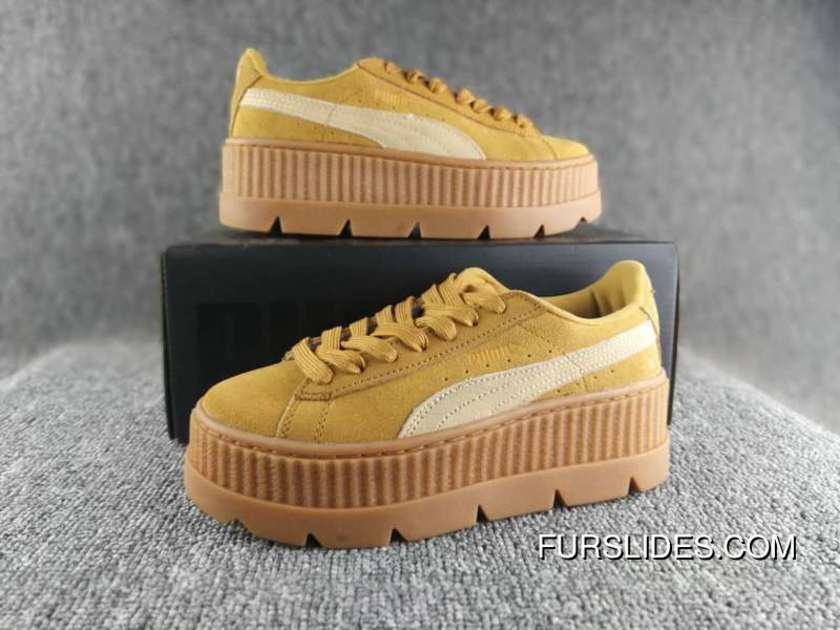 online store 6785c 3fd02 Puma Cleated Creeper Suede 2017ss Outdoor Shoes For Sale