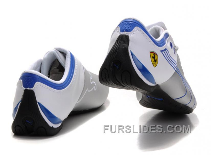 242e3e7f8017 Puma Ferrari Future Cat M1 Shoes SilverWhiteBlue Top Deals 2AyFGE ...