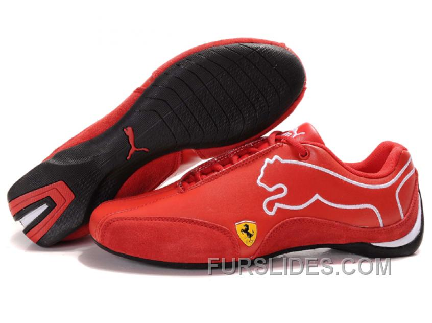 Super Deals Mens Puma Future Cat In Red/White/Black NkzJJ