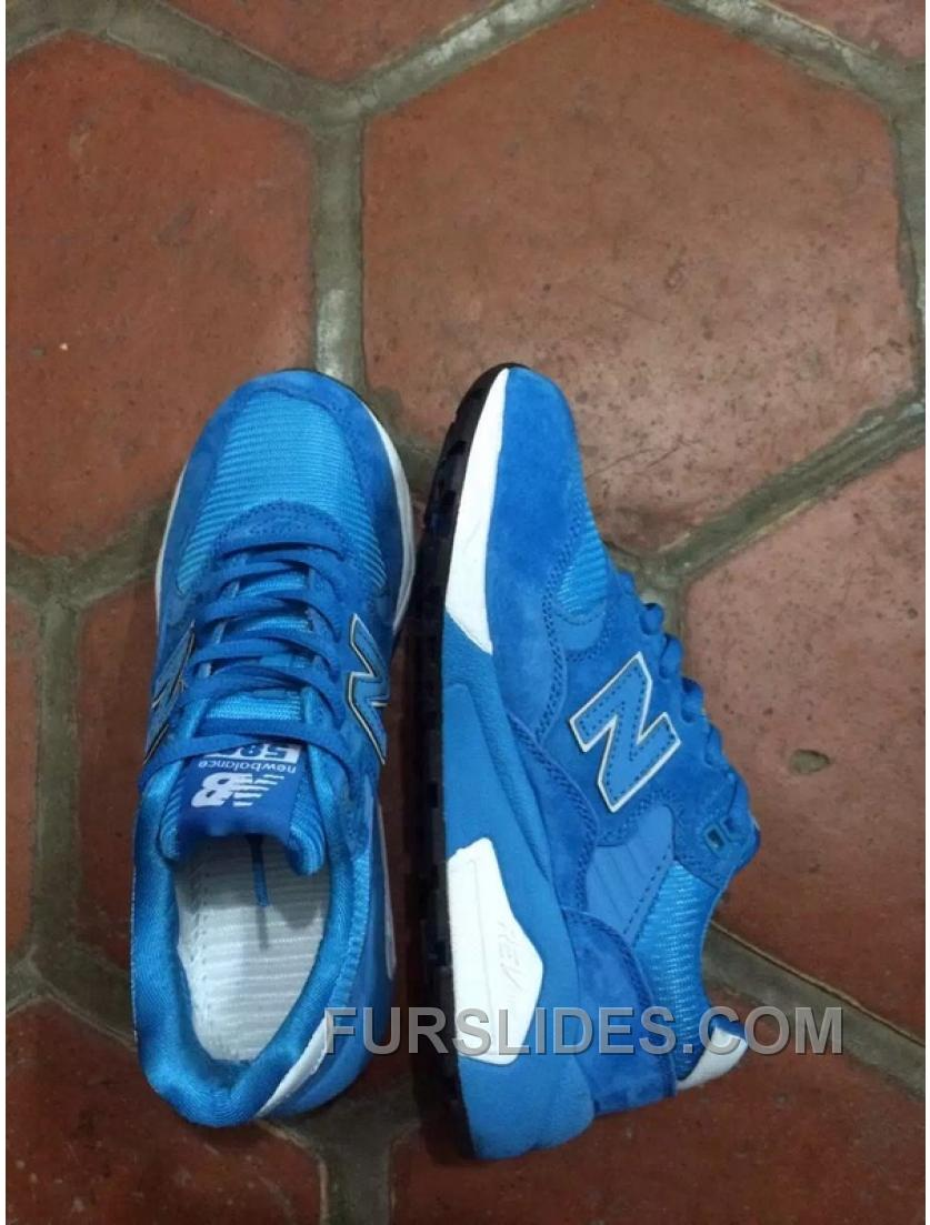 For Sale 2016 New Balance 580 Women Blue DhYBHZ